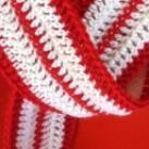 Small Skinny Crochet Scarf Pattern