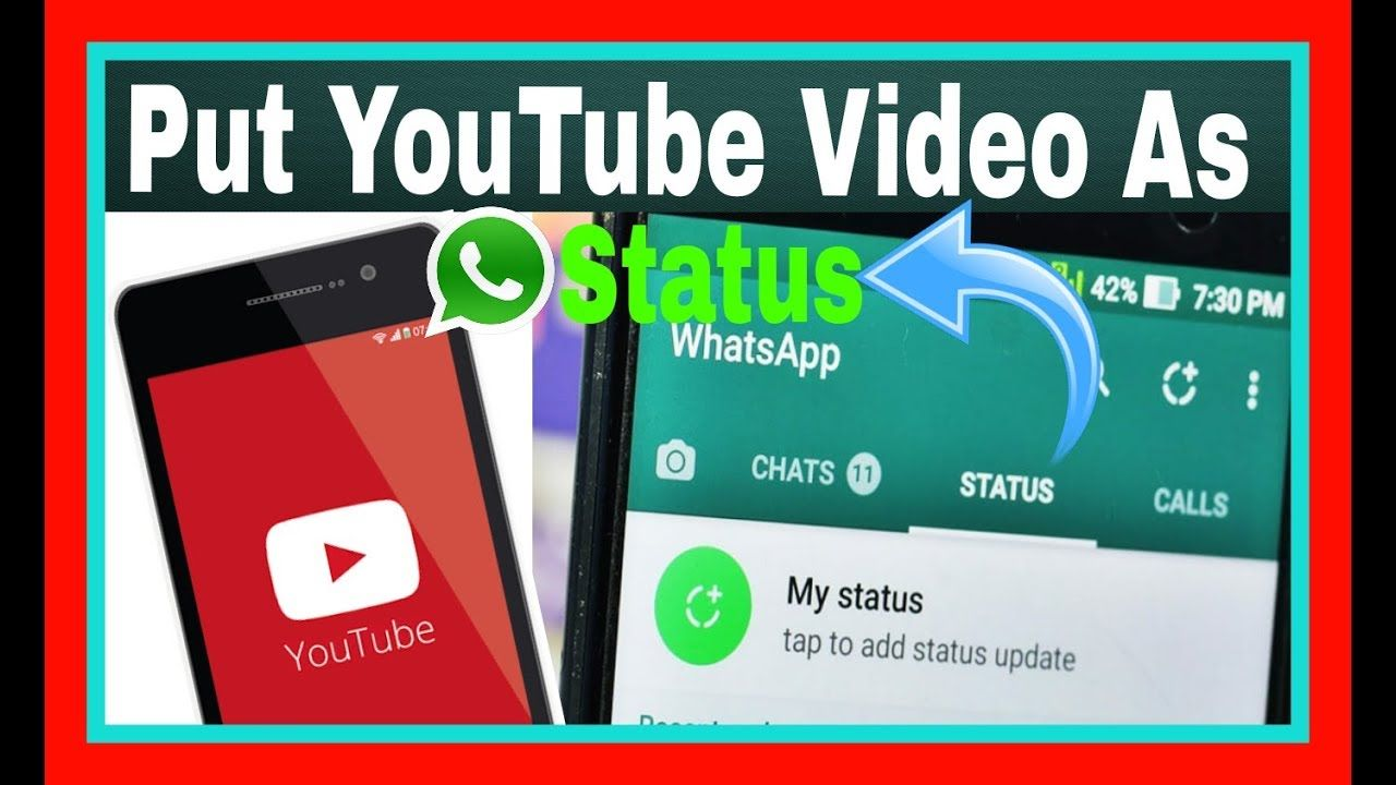 How To Put Youtube Video As Whatsapp Status Best Android