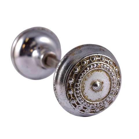 Chrome Corbin Como Doorknobs