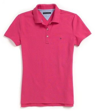 e9d83c2e54 camisa feminina gola polo hering rosa