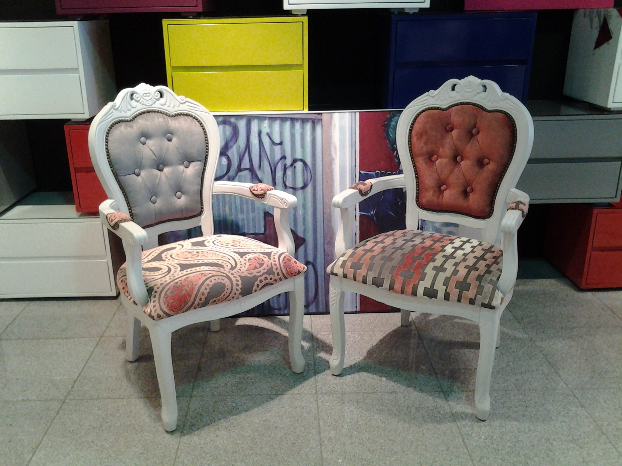 Muebles Pop Art Sillas Tapizadas Muebles Tapizados Upholstery Decor Y