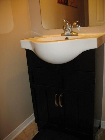 Engaging Replace A Pedestal Sink Top Home Renovation Ideas Vanity Sink Pedestal Sink Vanity