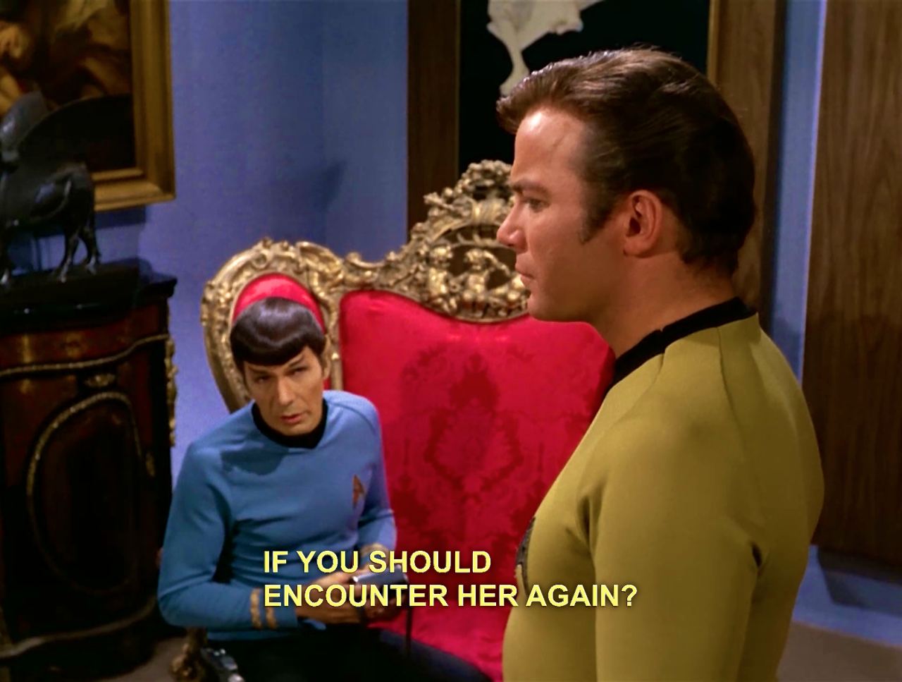 """theyumenoinuofficial: """" Spock, your jealousy is palpable. """""""