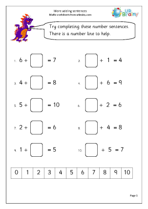 14+ Mathematics worksheets For Free