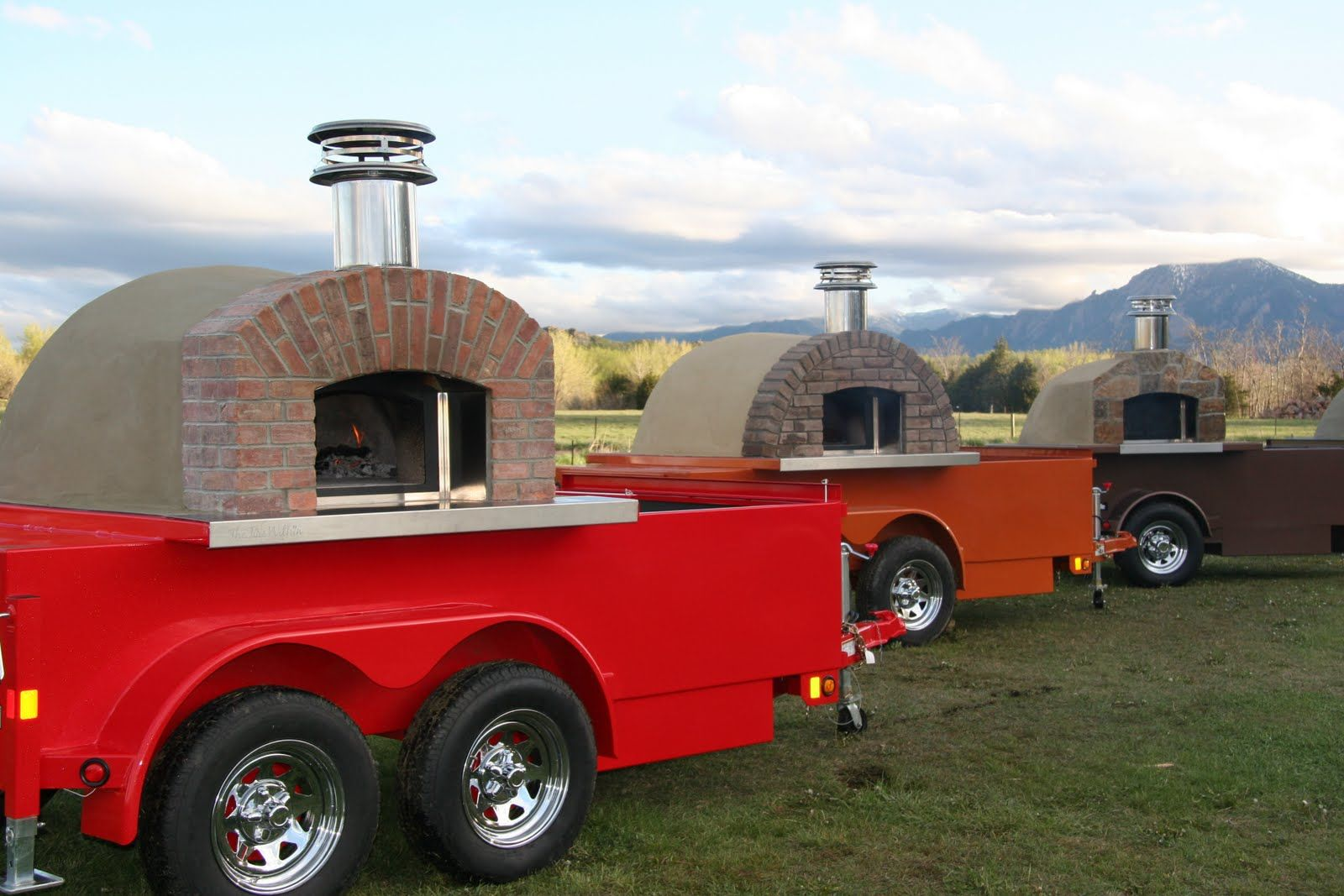Portable wood fired pizza oven for sale - Portable Pizza Ovens From The Passion 4 Pizza Website