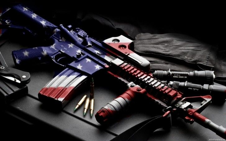 108 Best Images About Weapons Wallpapers On Pinterest: Gun Wallpapers : America Military Gun