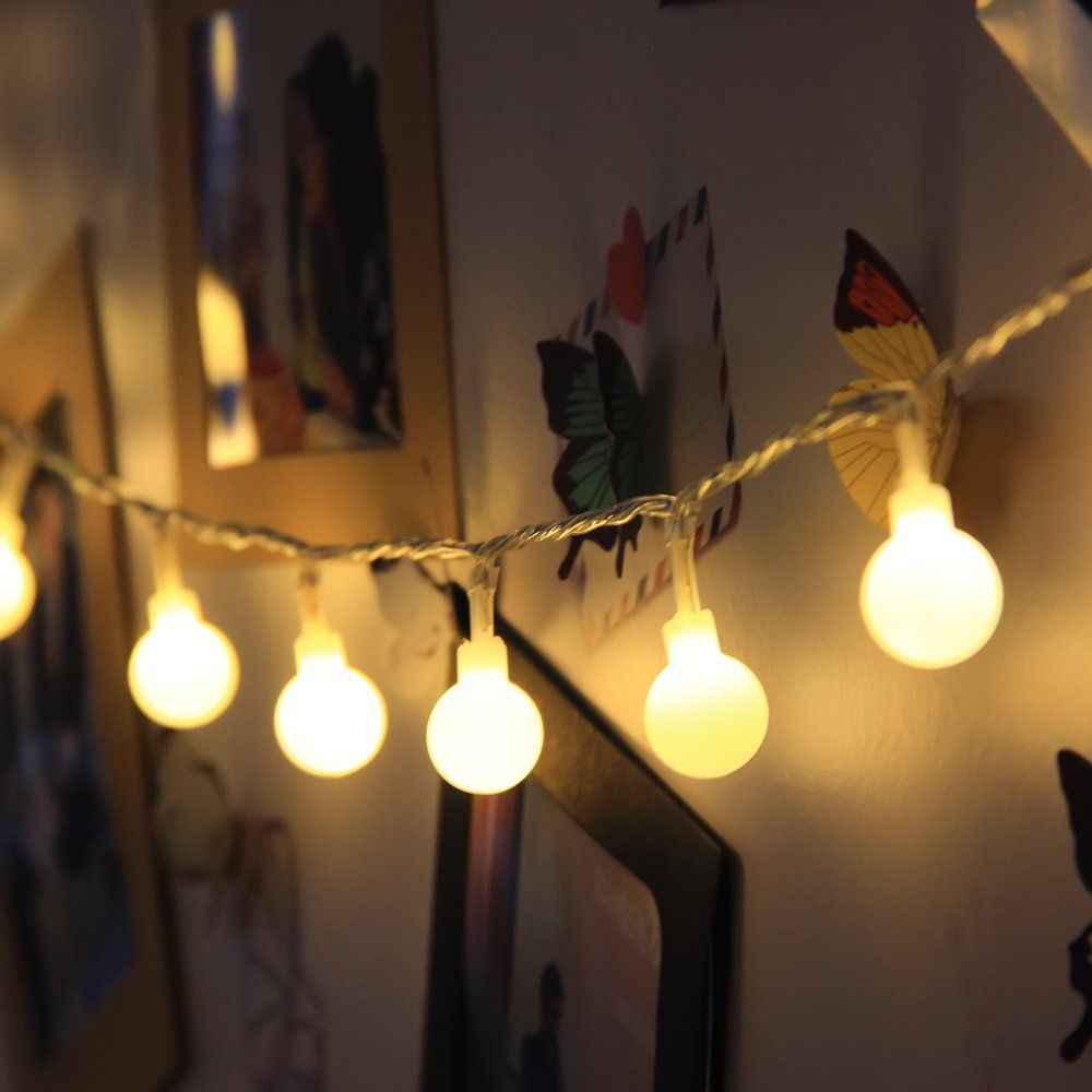 Indoor Fairy Lights Led Globe String Festoon Party Lighting - Where can i buy string lights for my bedroom