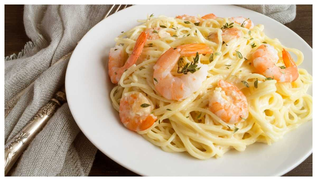 Pasta Med Rakor Och Parmesan Recept Matratt Rakor Middag