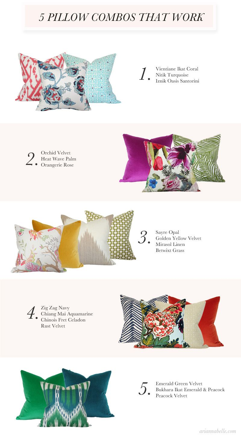 The Guide Arianna Belle Living Room Pillows Pillow Combos Cushions On Sofa #turquoise #pillows #living #room