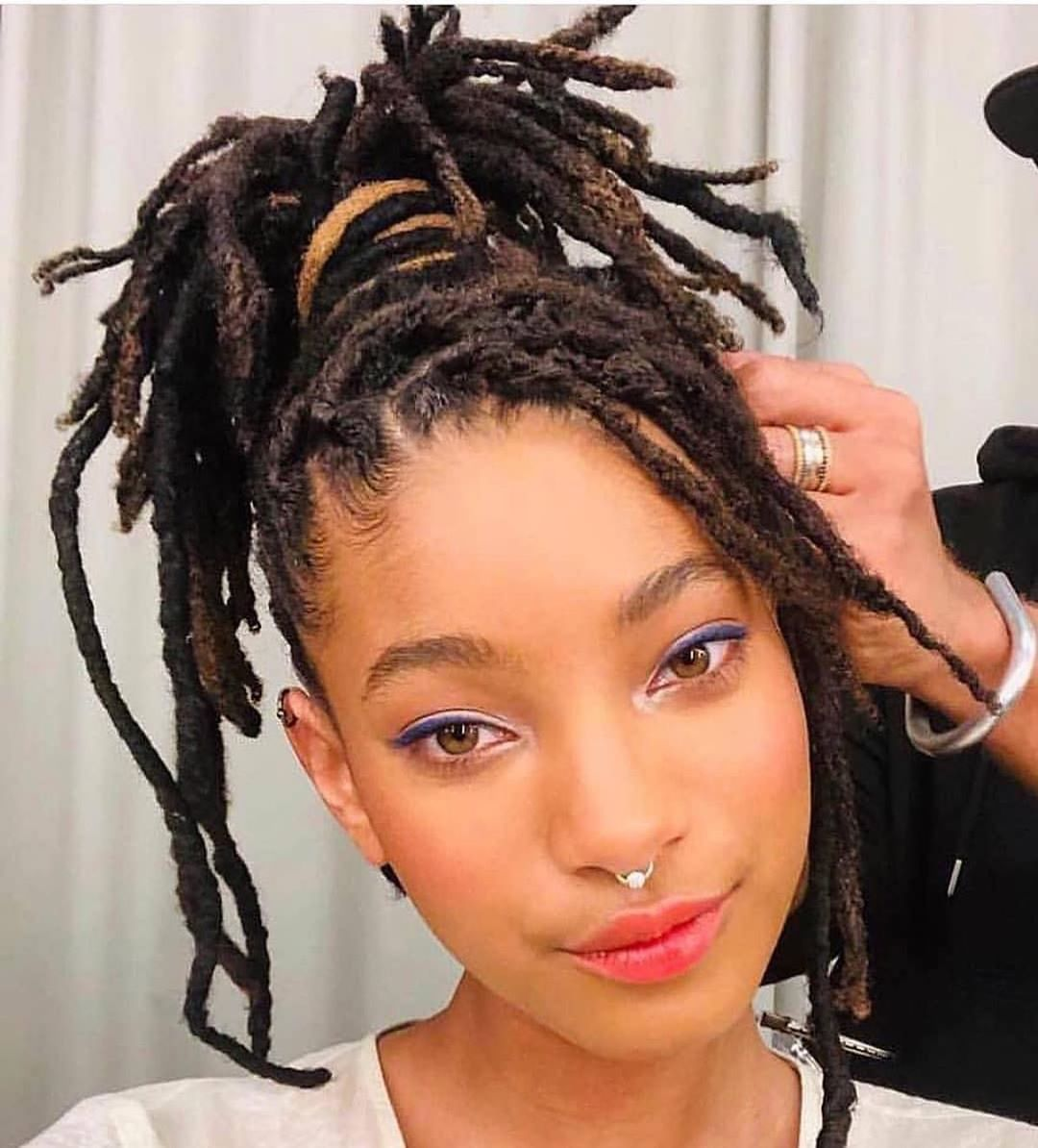 Natural Hair On Instagram Willowsmith Naturalhairlovez Locs Naturalhairstyles Hair Styles Natural Hair Styles Locs Hairstyles