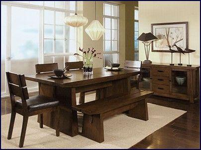 comedores modernos de madera | Sala de comedor de madera | Me gustan ...