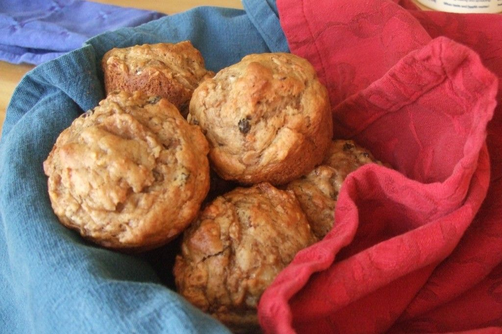 Allison's Everyday Apple-Carrot Muffins