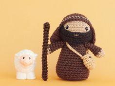 Amigurumi Nativity Español : Muñeco pastor amigurumi patrón gratis en español aquí