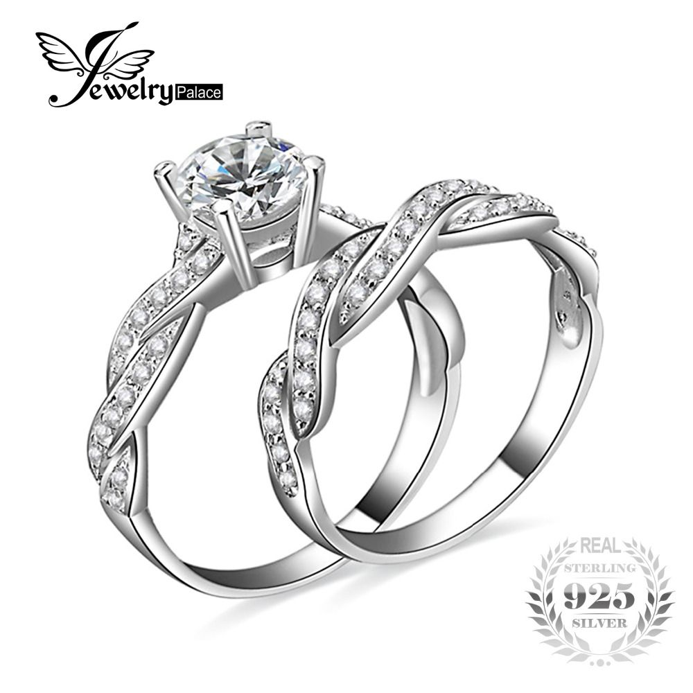 efbe73c7d compare prices jewelrypalace infinity love forver wedding engagement ring  simulated diamond #diamond #rings #engagement