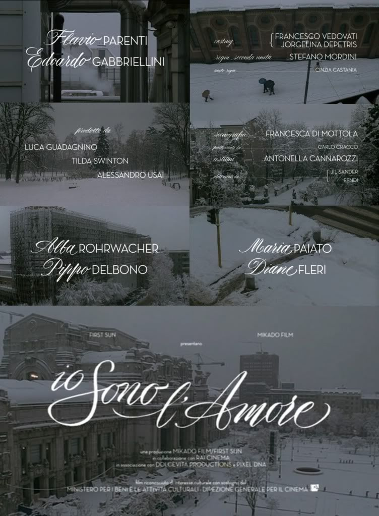 Io Sono L Amore Opening Credits By Lucca Barcellona