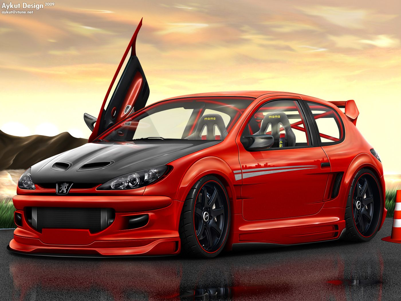 auto tuning peugeot 206 background wallpaper peugeot pinterest peugeot cars and bmw s1000rr. Black Bedroom Furniture Sets. Home Design Ideas