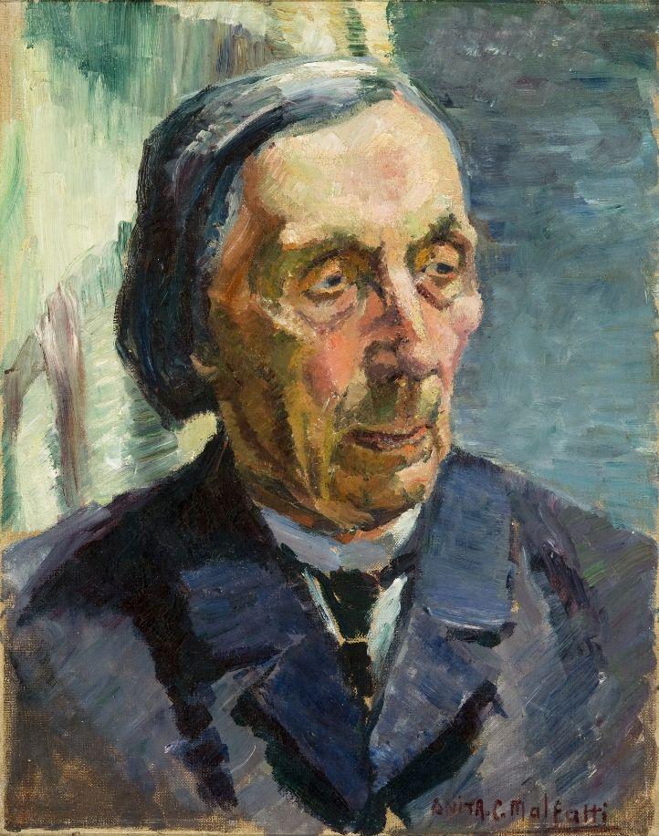 Um Professor 1912 1913 By Anita Malfatti Arte Obras Pintores