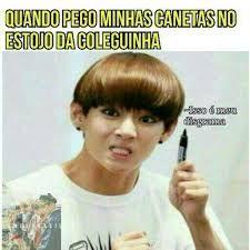 Resultado De Imagem Para Memes Bts Português Taehyung