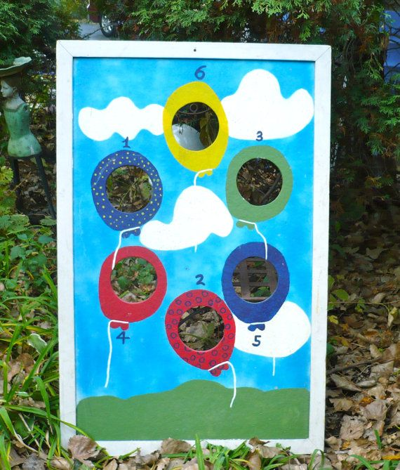 Great idea for backyard fun vintage style vintage for Good backyard games