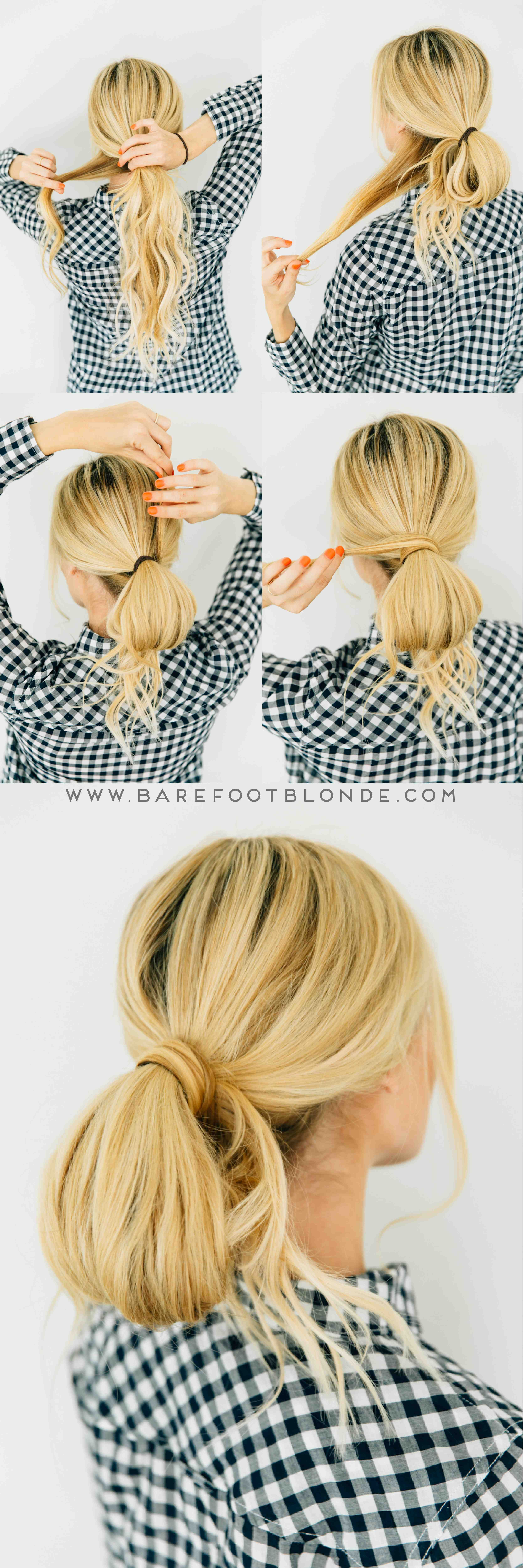 Three easy hairstyles three minutes each easy hairstyles amber