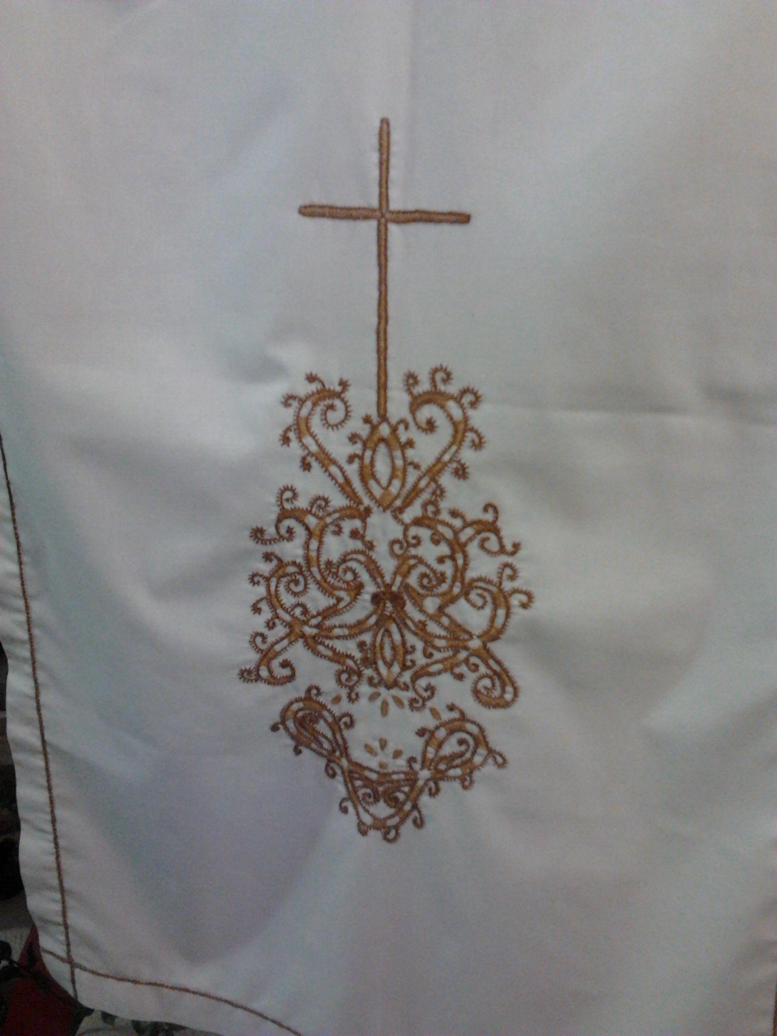 Bordados das Caldas da Rainha - Altar Igreja do Pego, Abrantes