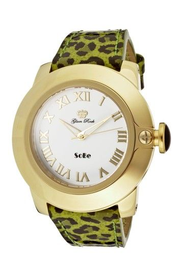 Glam Rock Women's SoBe Mood Casual Watch by SWI Group on @HauteLook