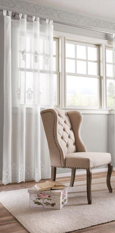Stuhl mit Landhaus Charme Landhausstil Pinterest - stuhl für schlafzimmer
