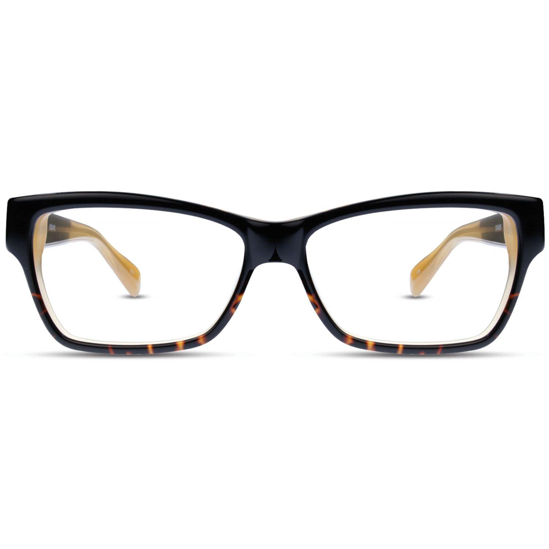 e9c72f2bb7 Women s Optical Frame Angular Butterfly Eye Shape Triple Tone Mazzucchelli   112