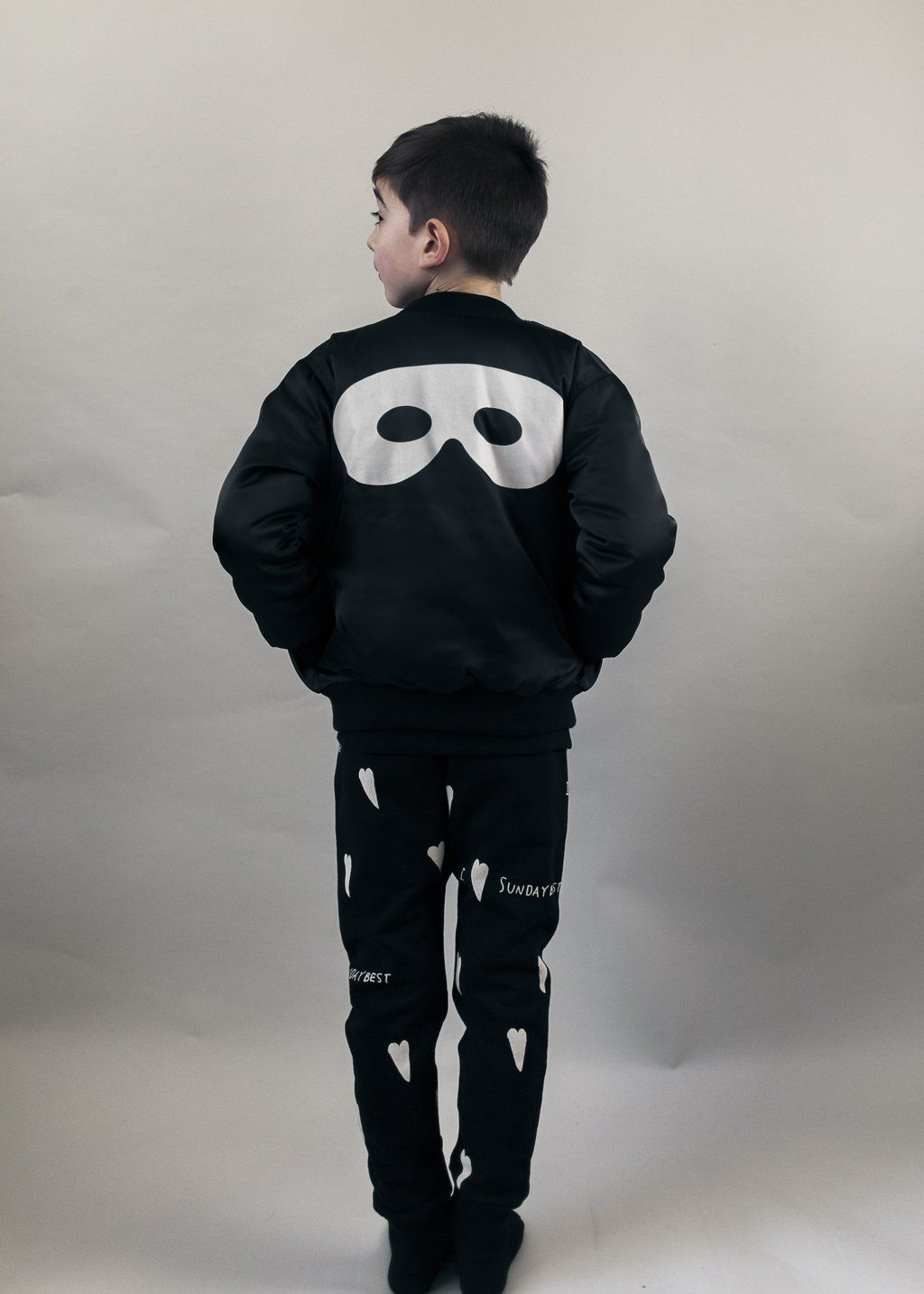 b1f5c1368 Beau Loves - We Love You bomber jacket - black - Scout & Co Kids ...