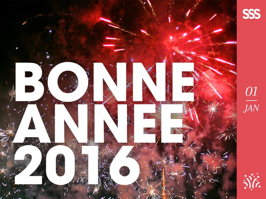 L'équipe de l'Agence Sweep vous présente ses meilleurs vœux pour l'Année 2016 !  #BonneAnnée #HappyNewYear #2016 #Voeux #France #Montpellier