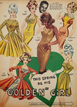 """This Spring be his """"Golden"""" Girl"""