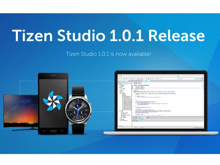 The Tizen Studio, formerly known as the Tizen SDK, has received a