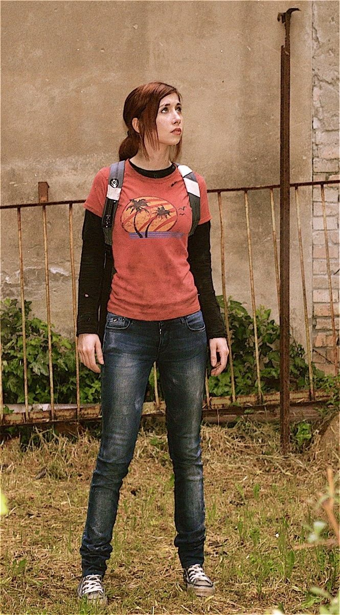 Ellie the last of us cosplay