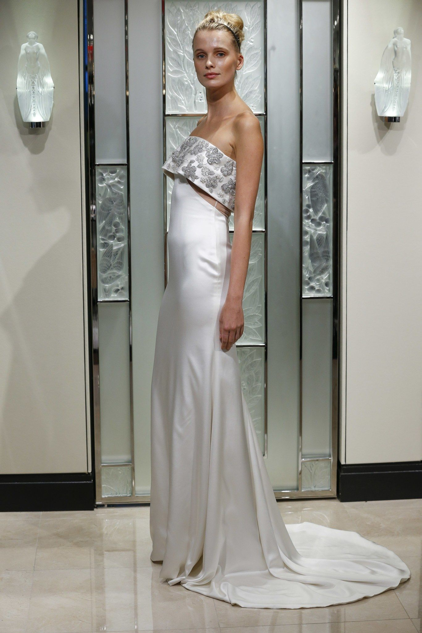 cbc6c42c31 Fashion Shows - Gracy Accad Frühjahr Sommer 2020 Bridal - Kollektion ...