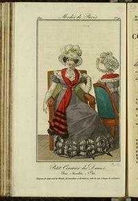 Petit Courrier des Dames : annonces des modes, des nouveautés et des arts del 10 de Noviembre de 1822