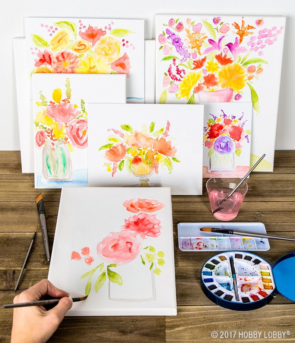 Add Color To Your World And Your Walls With Watercolor