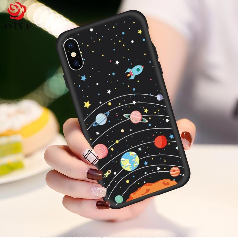 9e60fe2f02 Space Cartoon iPhone X Case #mobilephones   rupshashop   Phone cases ...