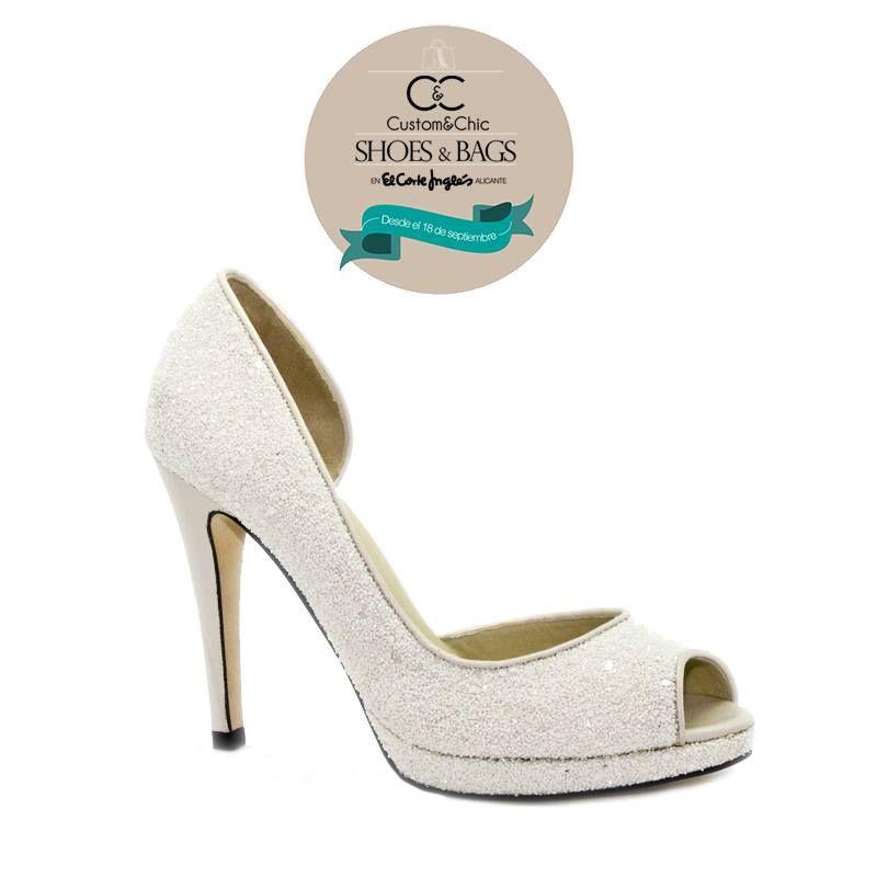 diseña tus zapatos de ensueño para el día de tu boda con un 25% de