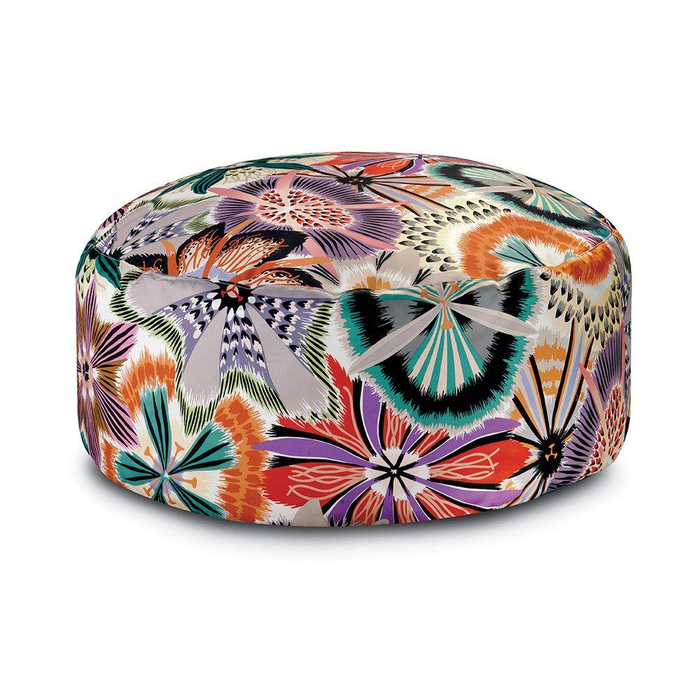Missoni Home Furniture London: Discover+the+Missoni+Home+Passiflora+Giant+Pouf+-+E042