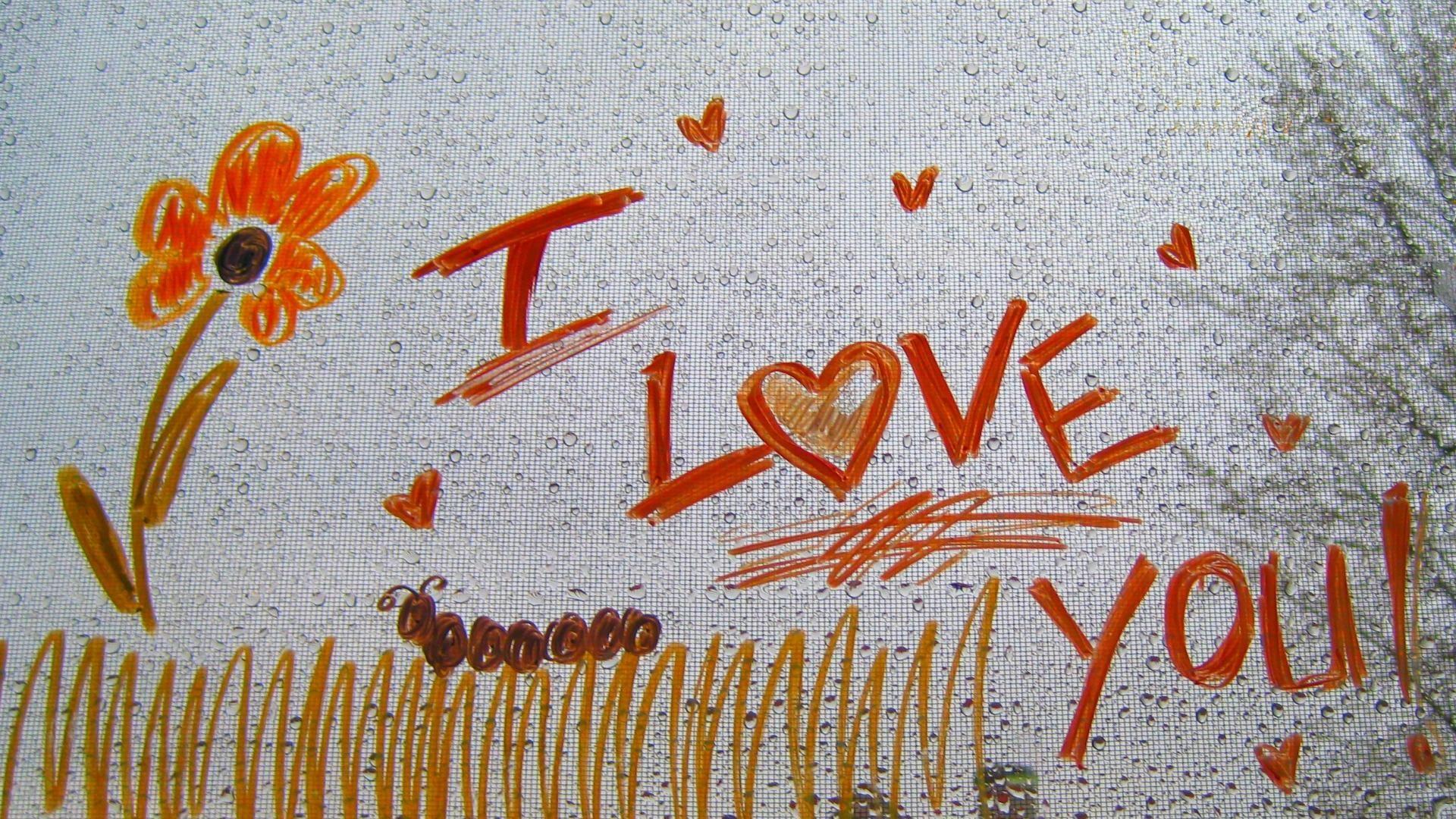 I Love You 2013 Art Images HD Wallpaper