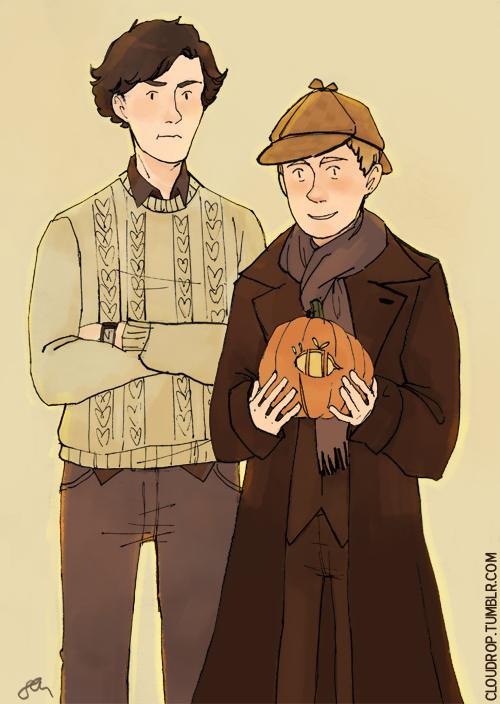 Happy Halloween! (though Sherlock isn't very happy) | Arte ...