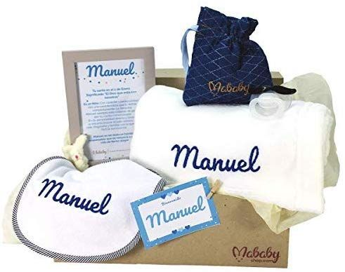 Regalos Bebe Personalizados Amazon.Mabybox My Blanket Set Regalo Recien Nacido Personalizado