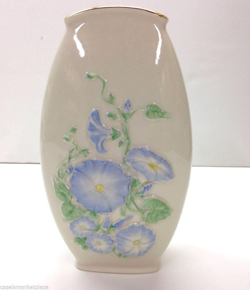 Lenox china morning glory floral porcelain flower vase save 27 lenox china morning glory floral porcelain flower vase save 27 reviewsmspy