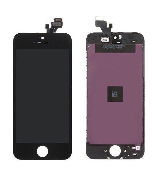 original apple iphone 5 full lcd display kompletteinheit glas touch black neu unbedingt kaufen. Black Bedroom Furniture Sets. Home Design Ideas