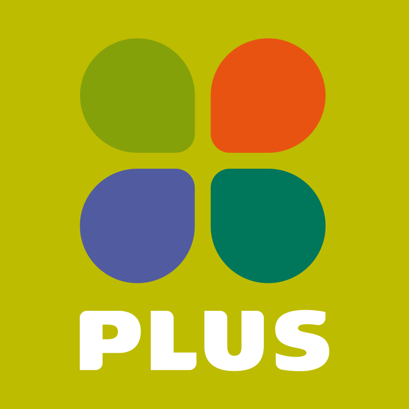 Plus Supermarkt Boodschappen Online Supermarkten Logos