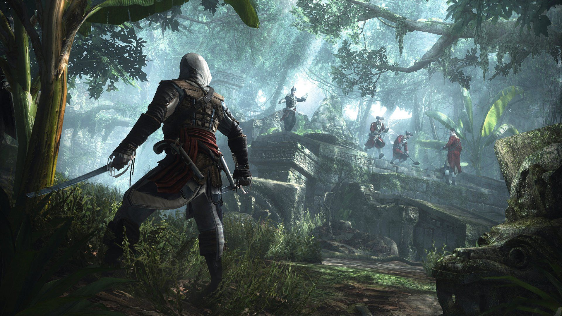 Edwar kenway fight guards assassins creed black flag pinterest assassins creed iv black flag 40 minute gameplay walkthrough part 1 full gameplay video voltagebd Image collections