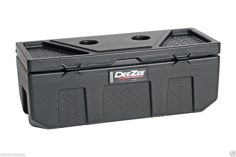 Poly Plastic Storage Chest Truck Tool Box Bed Suv Trunk