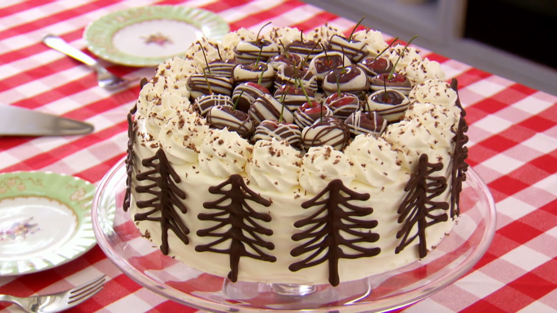 Mary's Black Forest Gateau Recipe | The Great Brit