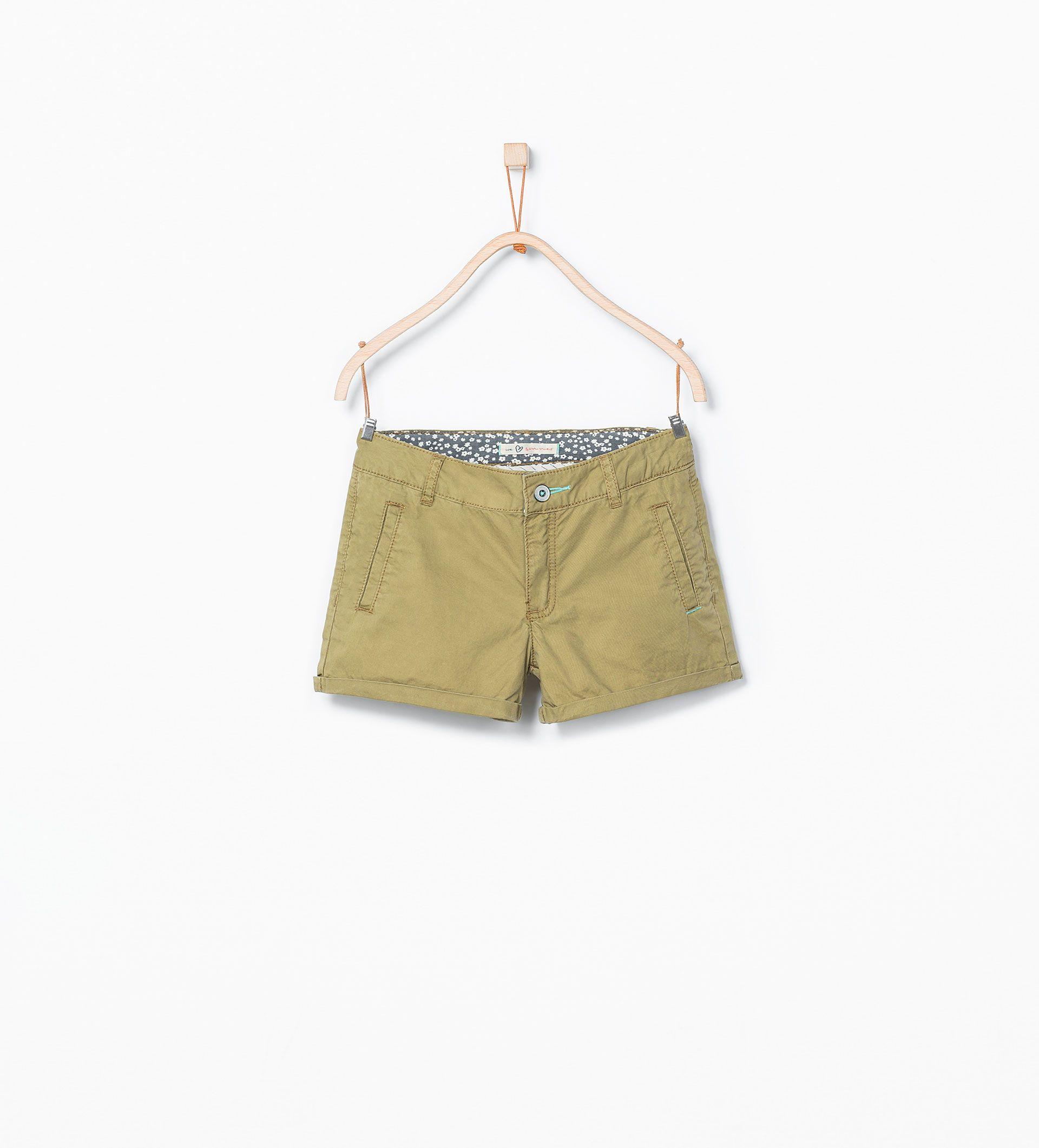 ZARA - ENFANTS - Short motif sur une poche