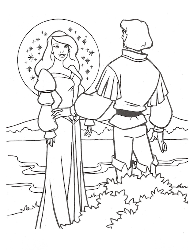 Celebrate The 25th Anniversary Of The Swan Princess Princess Coloring Pages Swan Princess Princess Coloring